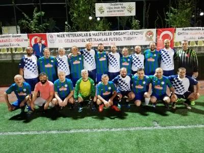 10. veteranlar masterler futbol turnuvası 3. hafta maçları