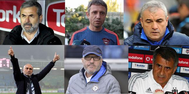 Türkiye Futbol Liglerindeki Teknik Direktör Kıyımı 1: Süper  Lig