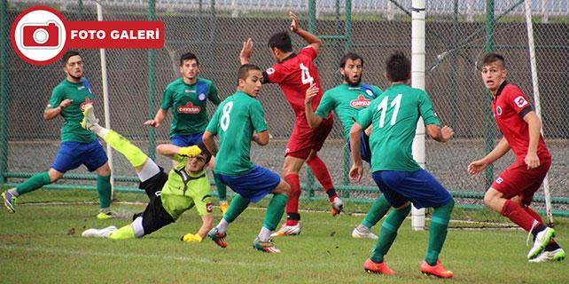 Çaykur Rizespor U19: 1 - Gençlerbirliği U19: 2