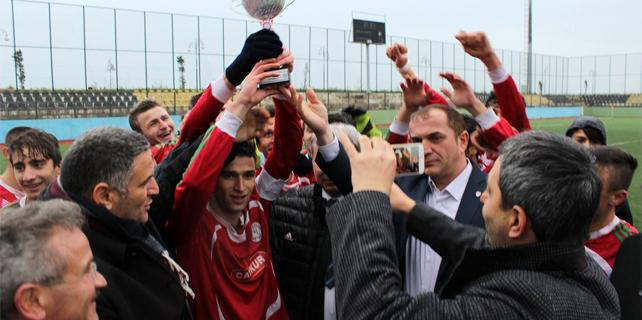 U19 Ligi Rize Şampiyonu Çaykurspor oldu