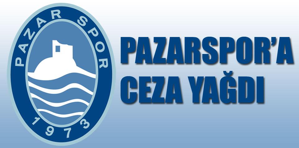 PFDK, Pazarspor'a ceza yağdırdı