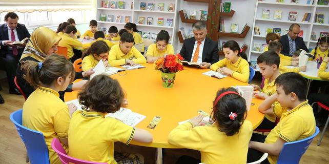 Doğuş Çay İlkokulunun kütüphanesi açıldı