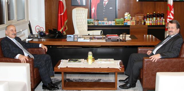 Kazancı'dan Sütlüoğlu'na iade-i ziyaret