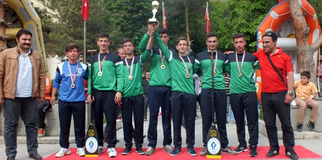 Rize Belediyespor Rafting Takımı Türkiye Şampiyonu
