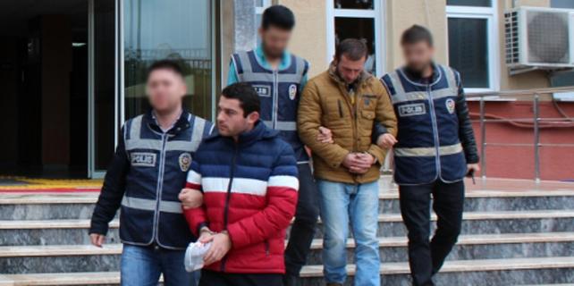 Rize'de hırsızlık yapan 3 kişi tutuklandı