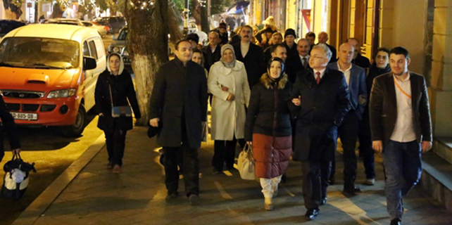 Kasap ve ekibi değişimi Batum'da aradı