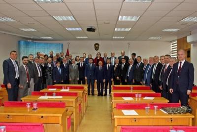2014-2019 Dönemi Rize İl Genel Meclisinin Son Toplantısı Yapıldı