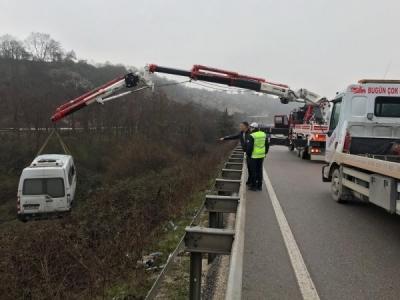 2018'de de trafik kazalarının sonucu ağır oldu