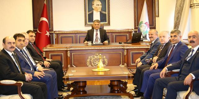 KTO yönetiminden Vali Yazıcı'ya ziyaret