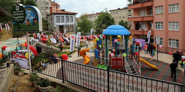 Rize Belediyesi'nden 5 haftada 5 park