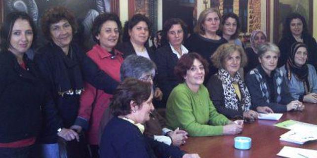 CHP Rize'de kadınlar seçim çalışmalarını başlattı
