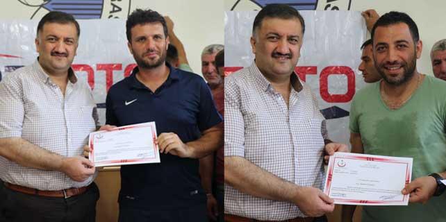 ASKF'nin İlk Yardım Kursiyerleri sertifikalarını aldı