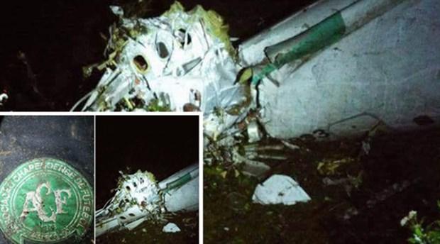 72 yolcusu bulunan uçak Medellin kentindeki uluslararası havalimanında düştü.