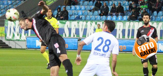 Rizespor, Balıkesirspor karşısında 3 puanı topladı