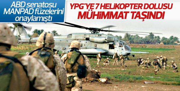ABD'den YPG'ye 7 helikopter silah yardımı