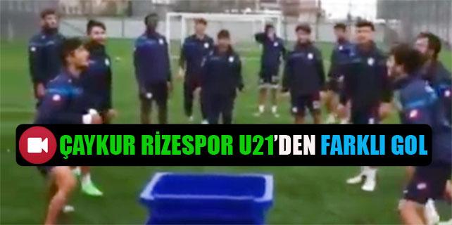 Çaykur Rizespor U21'den farklı gol