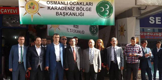 Osmanlı Ocakları Rize İl Başkanlığı açıldı