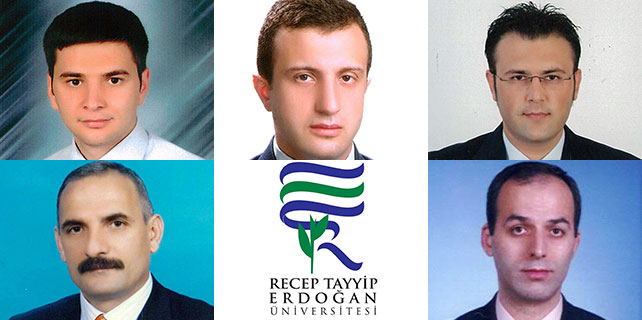 RTE Üniversitesi'nde 5 atama daha yapıldı