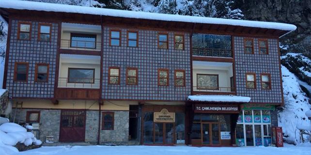 Çamlıhemşin Belediyesi hizmet binası yenilendi