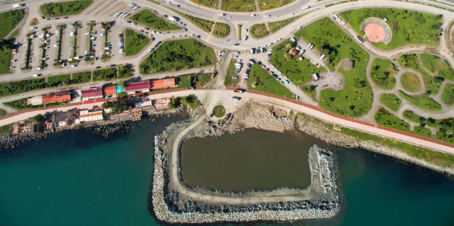 Rize Belediyesi'nin Mavi Şehir Projesi ilerliyor