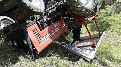 Tarım arazisinde ilaçlama yapan kişi öldü