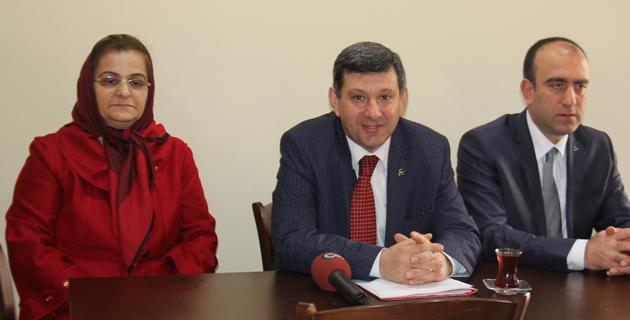 MHP Rize İl Başkanı Kazmaz 2014 Yılının kapanışını yaptı
