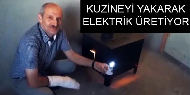 Kuzineden elektrik üretiyor