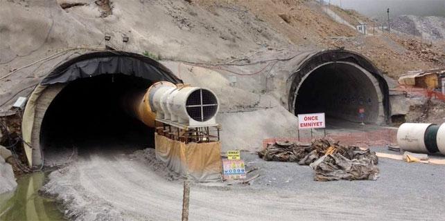 Ovit Tüneli inşaatı yeniden başlıyor
