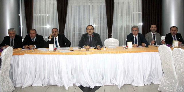 Ak Partili Başkanlar Kasım toplantısını yaptı