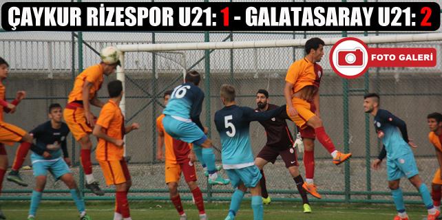 Çaykur Rizespor U21 penaltıyla yıkıldı