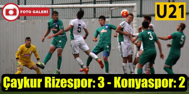 Çaykur Rizespor U21 gitti-geldi: 3-2
