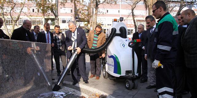 Rize Belediyesi, Elektrikli Sokak Süpürgesi aldı