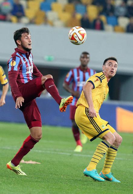 Metalist Kharkiv - Trabzonspor maçı