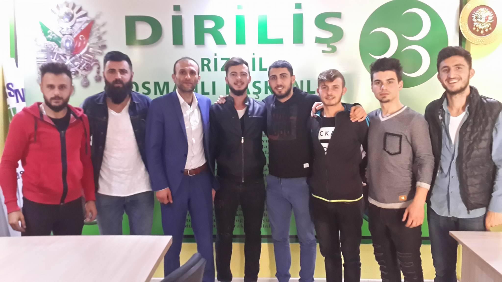 Hasan Kansızoğlu Kalkanderspor'un yanında