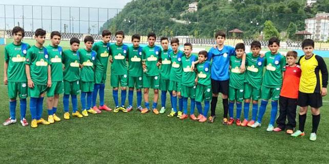 Rize U13 Ligi Şampiyonu Çaykur Rizespor