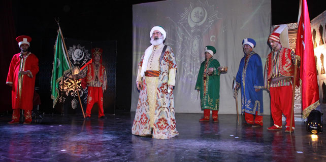 Osmanlı: Kıtalara Sığmayan Aşk, Rize'de sahnelendi