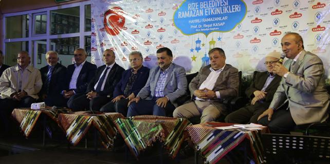 Rize Belediyesi Ramazan programları devam ediyor