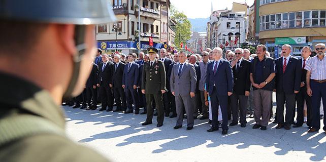 Rize'de Gaziler Günü törenle kutlandı