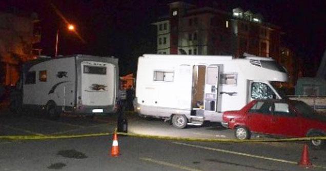 Rize'de İtalyan turist karavanda öldürüldü