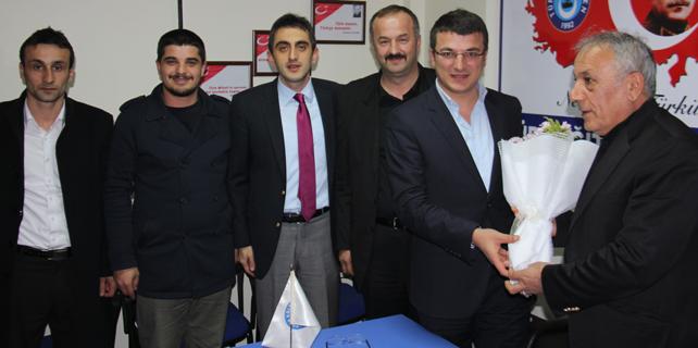 Rize Ülkü Ocağı'ndan Türk Eğitim-Sen'e ziyaret