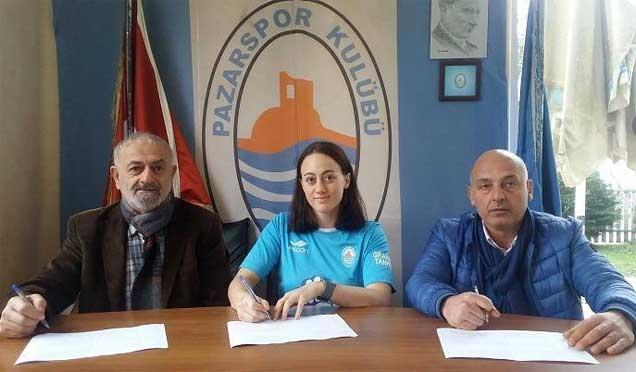 Pazarspor Bayan Hentbol Takımından transfer