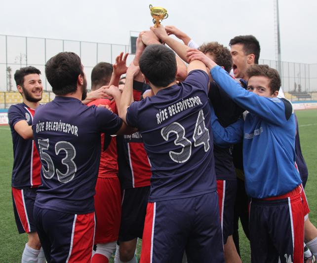 Rize Belediyespor U19 - Çaykurspor U19 maçı / Foto Galeri
