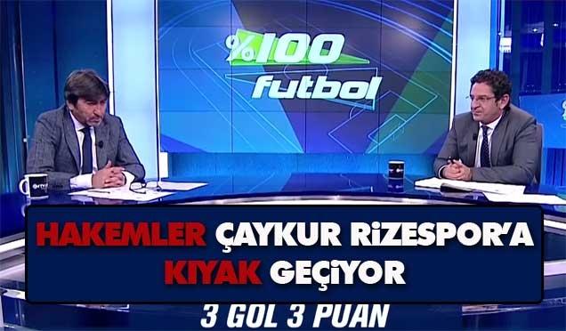 %100 Futbol'da Rizespor taraftarını kızdıran yorum