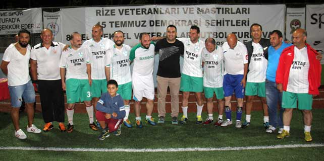 Rize 8. Veteranlar Ligi Şampiyonu Ardeşen oldu