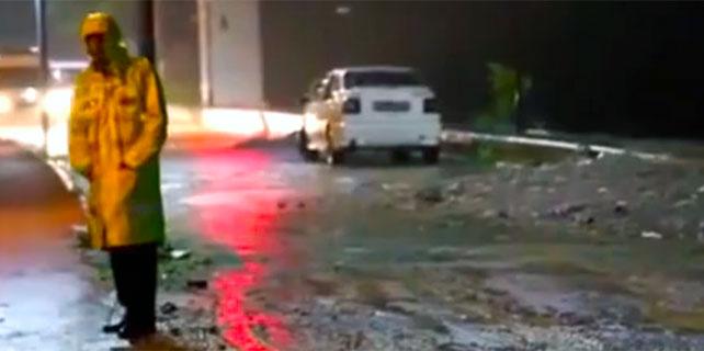 Rize'de 'bomba yüklü otomobil' paniği