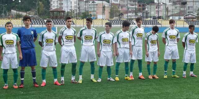 Çaykurspor U19: 0 - Çayelispor U19: 2