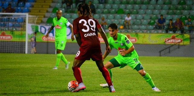 Çaykur Rizespor, Trabzonspor ile hazırlandı