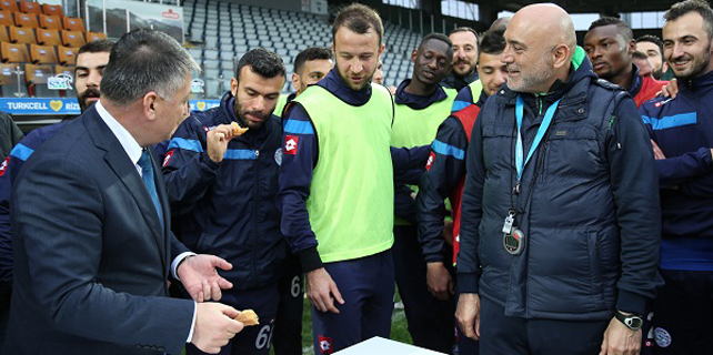 Vali'den Rizespor'a Fenerbahçe dopingi