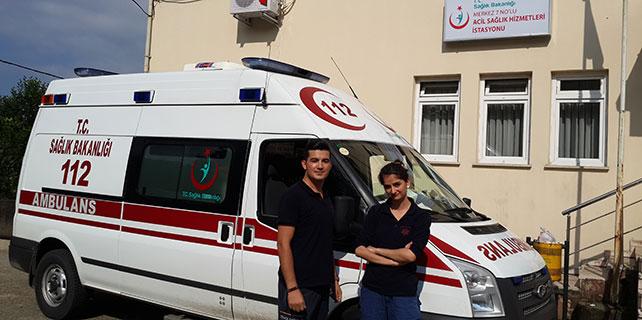 Çaykent'e 112 Acil Sağlık Hizmetleri İstasyonu