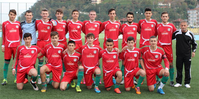 Çaykurspor U19 namağlup lider tamamladı